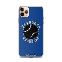 Load image into Gallery viewer, Baseball iPhone Case (Blue 2)