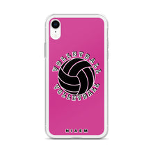 Load image into Gallery viewer, Volleyball iPhone Case (Pink 5)
