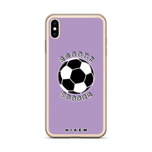 Soccer iPhone Case (Purple 2)