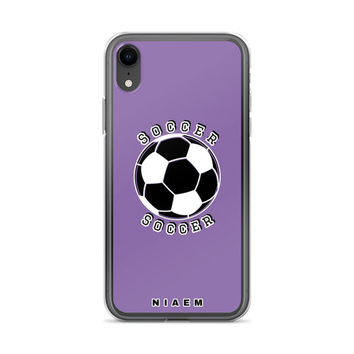Soccer iPhone Case (Purple)