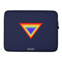 Load image into Gallery viewer, Navy Blue Triangle MacBook Laptop Sleeve