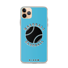 Load image into Gallery viewer, Baseball iPhone Case (Blue 7)