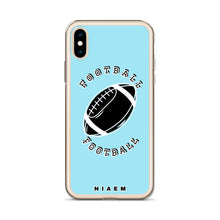 Load image into Gallery viewer, Football iPhone Case (Blue 6)