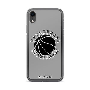 Basketball iPhone Case (Grey 1)