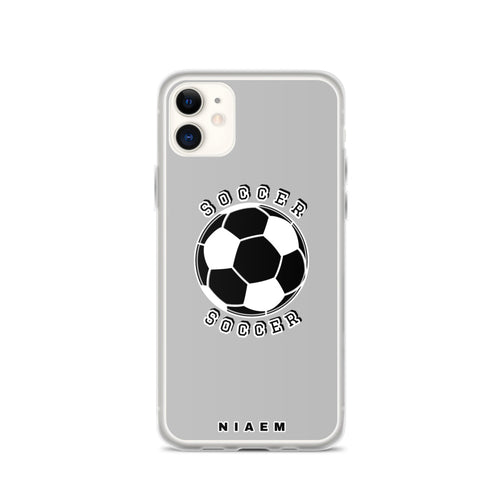 Soccer iPhone Case (Grey 2)