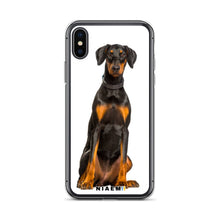 Load image into Gallery viewer, Dobermann Dog breed iPhone Case II