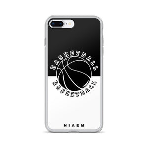 Basketball iPhone Case (Black & White)