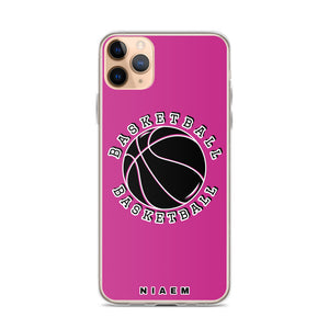 Basketball iPhone Case (Pink)