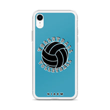 Load image into Gallery viewer, Volleyball iPhone Case (Blue)