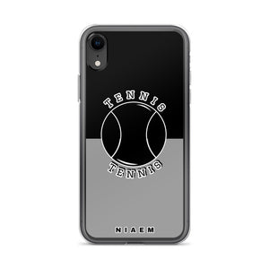 Tennis iPhone Case (Black & Grey 1)