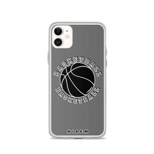 Basketball iPhone Case (Grey)