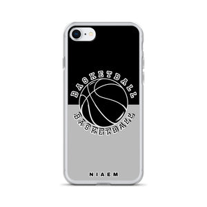Basketball iPhone Case (Black & Grey 2)