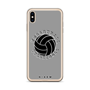 Volleyball iPhone Case (Grey 1)