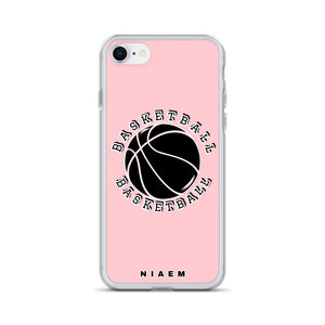 Basketball iPhone Case (Pink 3)