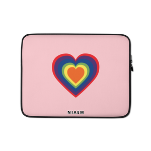 Colorful Heart Laptop Sleeve I