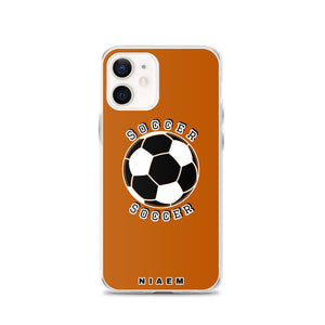 Soccer iPhone Case (Brown 1)
