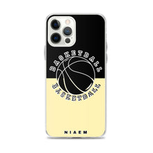 Load image into Gallery viewer, Basketball iPhone Case (Black & Yellow 2)