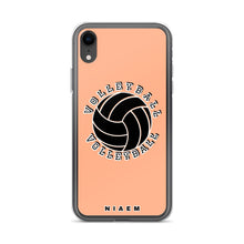 Load image into Gallery viewer, Volleyball iPhone Case (Orange 2)