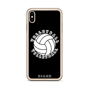 Volleyball iPhone Case (Black)