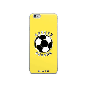 Soccer iPhone Case (Yellow 1)