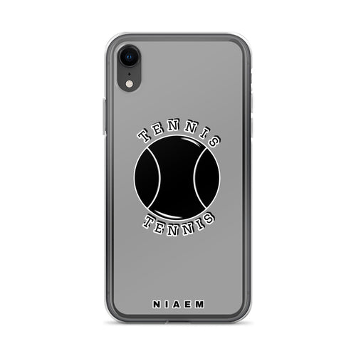 Tennis iPhone Case (Grey 1)