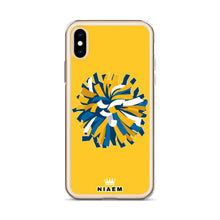 Load image into Gallery viewer, Cheerleader iPhone Case (Yellow)