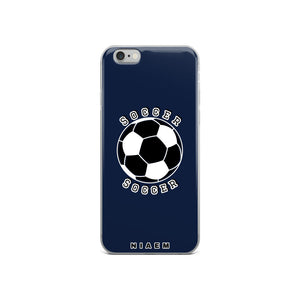 Soccer iPhone Case (Navy)