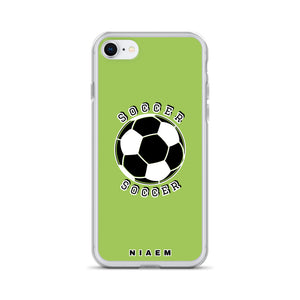 Soccer iPhone Case (Green 3)