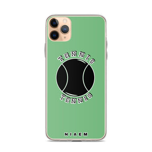 Tennis iPhone Case (Green 4)