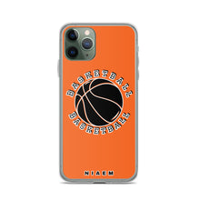 Load image into Gallery viewer, Basketball iPhone Case (Orange)