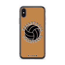 Load image into Gallery viewer, Volleyball iPhone Case (Nude)