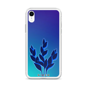 Frost Blue iPhone Case