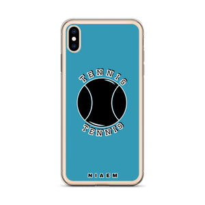 Tennis iPhone Case (Blue)
