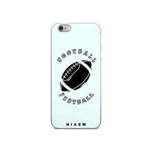Football iPhone Case (Blue 5)