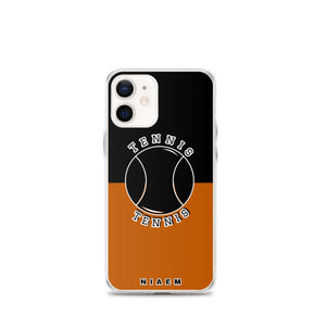 Tennis iPhone Case (Black & Brown 1)