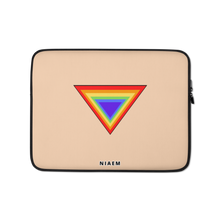 Load image into Gallery viewer, Light Tan Triangle MacBook Laptop Sleeve
