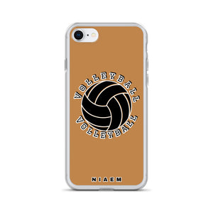 Volleyball iPhone Case (Nude)