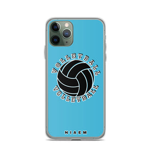 Blue volleyball iPhone 11 Pro phone cases