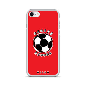 Soccer iPhone Case (Red 1)