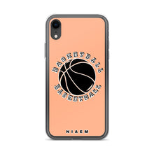 Load image into Gallery viewer, Basketball iPhone Case (Orange 2)