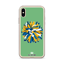 Load image into Gallery viewer, Cheerleader iPhone Case (Green 4)