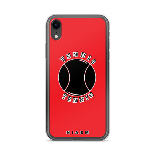 Tennis iPhone Case (Red 1)