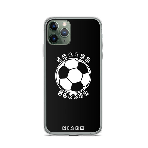 Soccer iPhone Case (Black)