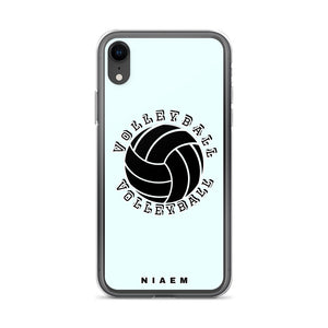 Volleyball iPhone Case (Blue 5)
