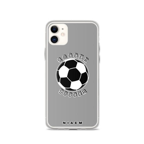 Soccer iPhone Case (Grey 1)