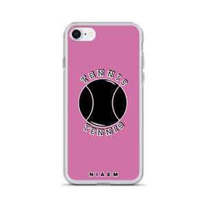 Tennis iPhone Case (Pink 1)