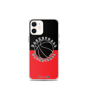 Basketball iPhone Case (Black & Red 1)
