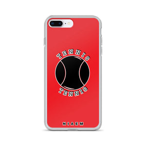 Tennis iPhone Case (Red)