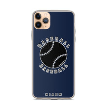 Load image into Gallery viewer, Baseball iPhone Case (Navy)