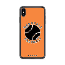 Load image into Gallery viewer, Baseball iPhone Case (Orange 1)